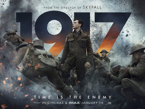 推荐一部好电影《1917》写点影评!